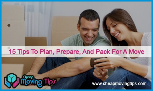 tips to plan for a move