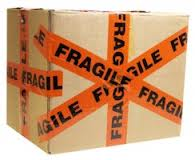 fragile moving box