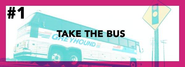 The Cheapest Way To Move Out of State - Take The Bus