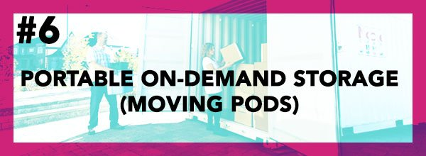 Cheap Way To Move #6 - Portable On-Demand Storage (Moving Pods)