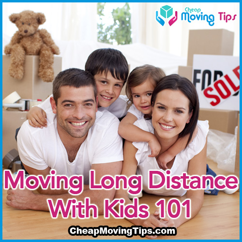 moving long distance with kids 101