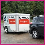 Cheap Way To Move To Another State #3 - Rent a trailer and tow it