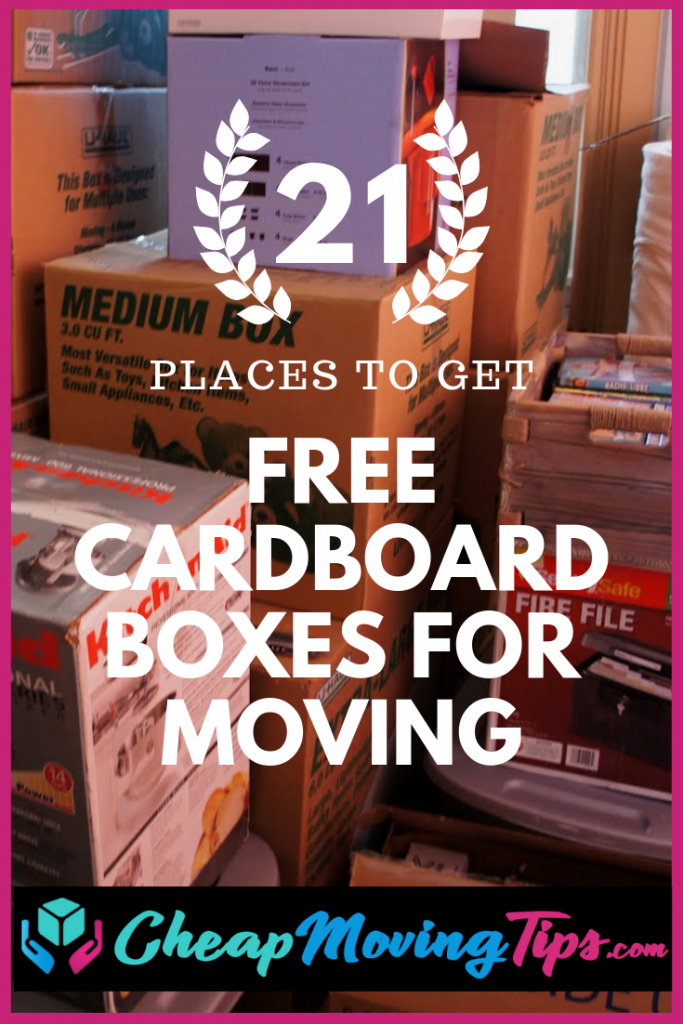 Free Cardboard Boxes For Moving