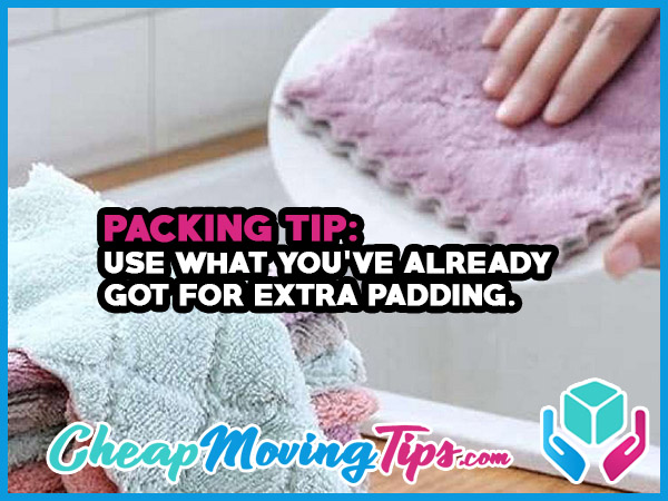 Packing Tip: Use What You've Already Got For Extra Padding